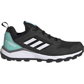 adidas TERREX Agravic TR Trail Running Shoes Women, core black/crystal white/acid mint